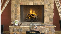 Superior WRE6036 Outdoor Wood Burning Fireplace Alternate View