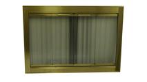 Genesis Antique Brass Fireplace Door