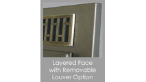 Layered Face Refacing Close Up Of Louver