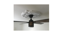 Ceiling accent Attica Thermoformed PVC Ceiling Medallion