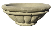 24 Inch Round Milano Concrete Fire Bowl Quote Only shown in Dijon