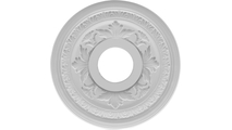 """3 1/2""""ID Round Moulding Baltimore Thermoformed PVC Ceiling Medallion"""