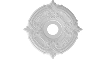 Round Moulding Attica Thermoformed PVC Ceiling Medallion