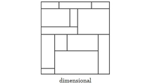 Dimensional Wall System