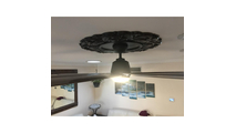 Ceiling Lights Attica Thermoformed PVC Ceiling Medallion