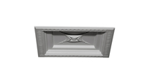 """24"""" Star Urethane Ceiling Tile Angled View"""
