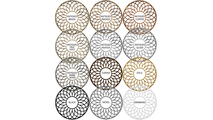 Available Augustus Medallion Finishes