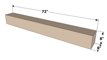 Mantel Shelf Specs