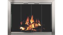 Avaleria Glass Fireplace Door With No Damper