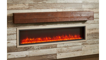 72 Inch Tavern Brown Supercast Modern Mantel
