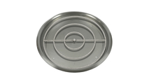 """37"""" Round Drop In Stainless Steel Pan And 30"""" Round Burner Ring"""
