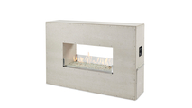 40 Inch Ready To Finish Linear See Thru Gas Fireplace With Manual Ignition