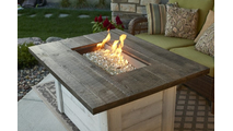 Alcott Outdoor Rectangular Gas Fire Pit Table
