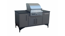 Tec Grill Island With Sterling Grill - Side View