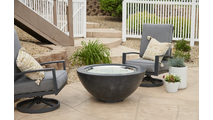 "Black Cove 30"" Gas Fire Pit Bowl"