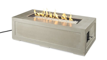 Cove Linear Gas Fire Pit Table