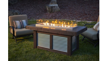 Denali Brew Linear Gas Fire Pit Table