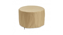 White Onyx Beacon Chat Height Gas Fire Pit Table Cover