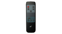Included Remote Control For Heat And Flame