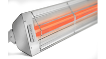 Stainless Steel color detail - Image Shows Dual Element Heater