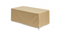 Grey Key Largo Linear Gas Fire Pit Table Protective Cover