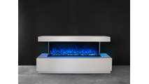 Wall Mount Pro Multi Electric Fireplace With Blue Flames