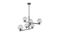 6-Light Globes of Light Chandelier