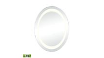 "24"" Skorpios LED Round Wall Mirror"