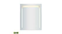 "24"" x 30"" LED Mirror in Brushed Aluminum"