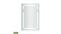 "24"" x 36"" LED Mirror in Brushed Aluminum"
