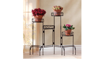 4-Tier Metal Plant Stand 2