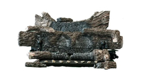 Buck 24 Inch Ember Vision Vent Free Gas Oak Log Set With On Off Remote