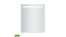 """30"""" x 36"""" LED Mirror with Bluetooth Audio Speakers"""