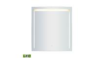 "36"" x 40"" LED Mirror In Brushed Aluminum Frame"