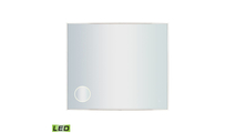 """42"""" x  36"""" LED Mirror with 3x Magnifier"""