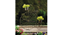 Old-Fashioned Bicycle Plant Stand 2