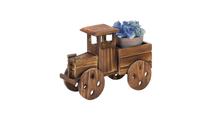 Rustic Antique Truck Planter 2