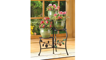 Country Apple Plant Stand 2