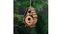 Round Log Birdhouse 2
