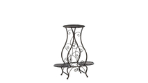 Triple Hourglass Plant Stand
