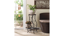 Triple Hourglass Plant Stand 2