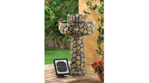 Wishing Well Solar Water Fountain 2