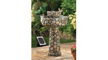 Wishing Well Solar Water Fountain 3