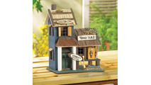 Bass Lake Lodge Wood Bird House 2