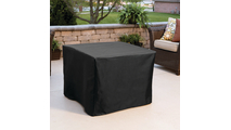 Ribeira Glass Fiber Reinforced Concrete Fire Pit shown in Gray