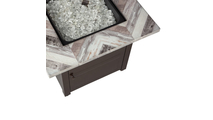 """""""Duvall"""" LP Gas Outdoor Fire Pit"""
