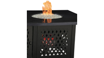 LP Gas Outdoor Fire Pit with DualHeat Technology