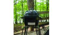 Primo Oval Junior 200 Ceramic Kamado Grill On GO Portable Carrier - 774