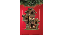 Rustic Gingerbread Style Bird House 3