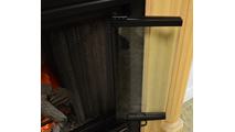 Trackless bi-fold doors - Nightwell Zero Clearance Fireplace Door